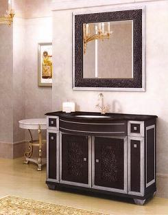 Мебель для ванной комнаты. Мебель для ванной умывальник с зеркалом ROMEO