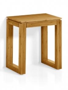 Мебель и Аксессуары для ванной из натурального дерева, Раттана и Бамбука. Табурет для ванной Kanaverra деревянный бамбуковый