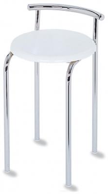 Банкетки для ванной Пуфы Интерьерные Табуреты для ванной и душа Откидные сиденья. TOP-SET Nicol табурет для ванной круглое белое сиденье