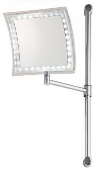 Зеркала косметические с подсветкой увеличением настенные настольные Зеркала с присосками. Tessa Nicol зеркало с подсветкой LED косметическое настенное с увеличением 1х5, батарейки