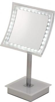 Зеркала косметические с подсветкой увеличением настенные настольные Зеркала с присосками. Thea Nicol зеркало с увеличением 1х5 и подсветкой LED косметическое настольное