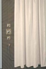 Шторки для душа и ванны текстильные. Thetis шторка для душа и ванны текстильная Бежевая