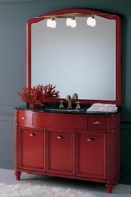 Мебель для ванной комнаты. Мебель для ванной Eurodesign умывальник с зеркалом Tiffany 4