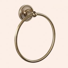 Аксессуары для ванной настенные. Полотенцедержатель кольцо TW Bristol TWBR015br