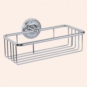 Полки для душа Сетки Полки для ванной стеклянные Полки для полотенец. Полочка сеткаTW Bristol TWBR527cr