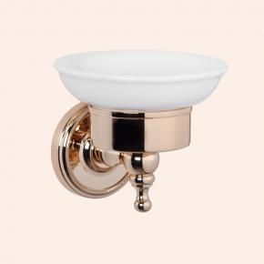 Аксессуары для ванной настенные. Мыльница подвесная TW Bristol TWBR106oro