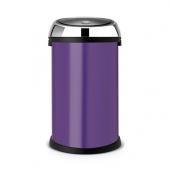 Мусорные баки и вёдра для кухни. Мусорный бак TOUCH BIN 50 литров Purple фиолетовый