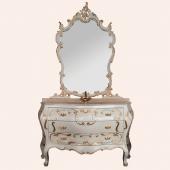 Мебель для ванной комнаты. Tiffany World Barocco Decoro Комплект мебели130x52x85h см