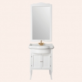 Мебель для ванной комнаты. Tiffany World Rebecca база под раковину 73см