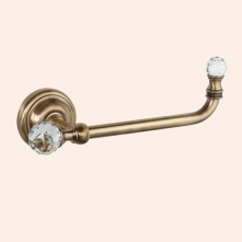 Аксессуары для ванной с кристаллами Swarovski. Держатель для туалетной бумаги TW Crystal TWCR019br/sw