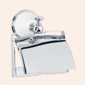 . Держатель для туалетной бумаги с крышкой TW Harmony TWHA219bi/cr