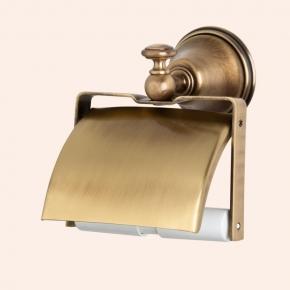 . Держатель для туалетной бумаги с крышкой TW Harmony TWHA219br