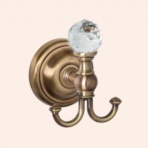 Аксессуары для ванной с кристаллами Swarovski. Крючок для полотенца TW Crystal TWCR016br/sw
