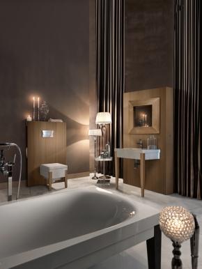 Мебель для ванной комнаты. Панель Kerasan Bentley 120