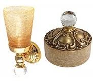 Аксессуары для ванной с кристаллами Swarovski. Cristalia аксессуары для ванной с кристаллами Swarovski