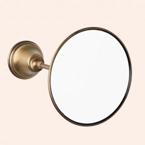 Зеркала косметические с подсветкой увеличением настенные настольные Зеркала с присосками. Зеркало косметическое круглое TW Harmony TWHA025br