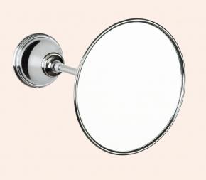 Зеркала косметические с подсветкой увеличением настенные настольные Зеркала с присосками. Зеркало косметическое круглое TW Harmony TWHA025cr