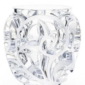 Вазы Deluxe. Ваза Thourbillons прозрачная Lalique