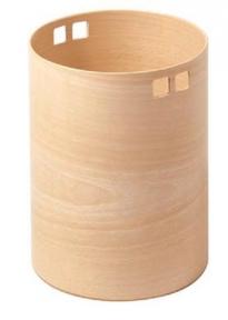 Аксессуары и Мебель для дома. Ведро для мусора деревянное Buk круглое