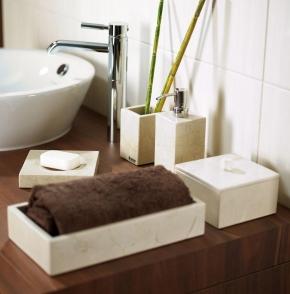 Аксессуары для ванной настольные. Victoria Nicol настольные аксессуары для ванной натуральный Травертин