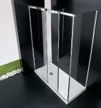 Душевые кабины Створки стеклянные Шторки для душа. Vismaravetro душевая кабина Slide VQ