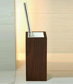 . Венге ёршик для унитаза напольный деревянный Wenge