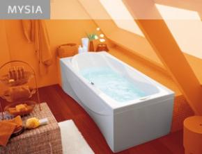 Ванны. Jacuzzi ванна с гидромассажем MYSIA
