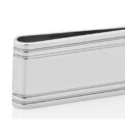Аксессуары для кабинета Deluxe. Зажим для банкнот Америка серебро 925 пр.