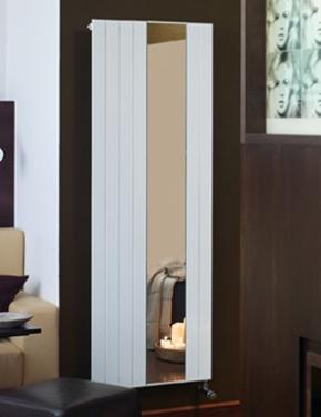 Радиаторы чугунные, стальные, стеклянные, биметаллические. Zehnder дизайн-радиатор Nova mirror