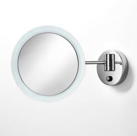 . Зеркало с подсветкой LED и увеличением 1х3 настенное Lineabeta