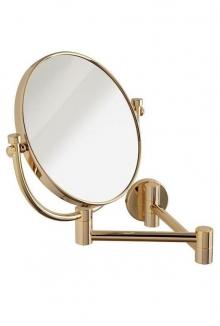 Зеркала косметические с подсветкой увеличением настенные настольные Зеркала с присосками. Nancy Gold Nicol зеркало косметическое золотое настенное двухстороннее с увеличением 1х1 и 1х3
