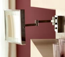 Зеркала косметические с подсветкой увеличением настенные настольные Зеркала с присосками. Зеркало с подсветкой косметическое MAGNI настенное с увеличением 1х5
