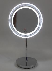 Зеркала косметические с подсветкой увеличением настенные настольные Зеркала с присосками. Зеркало косметическое с подсветкой Cosmetic настольное с увеличением 1х5