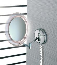 Зеркала косметические с подсветкой увеличением настенные настольные Зеркала с присосками. Marie Nicol косметическое зеркало с подсветкой LED настенное с 10-ти кратным увеличением