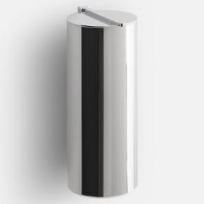. BIN 4 настенное ведро для мусора с крышкой хром