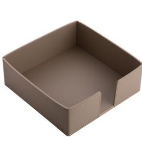 Посуда Столовые приборы Декор стола Deluxe. Viola кожаная подставка для салфеток Глина
