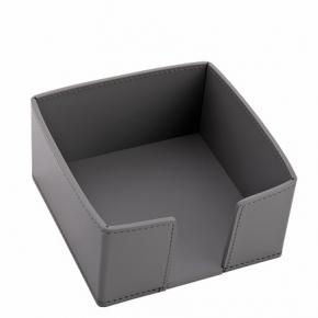 Посуда Столовые приборы Декор стола Deluxe. Viola кожаная подставка для салфеток Графит