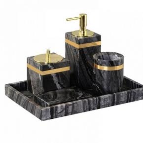 . Nobiliti мраморные настольные аксессуары декор золото