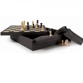 Настольные игры. Набор настольных игр шахматы, шашки, домино Graphite