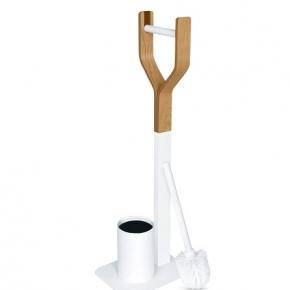 Стойки напольные с ёршиком бумагодержателем, полотенцедержателем и высокие. Triest стойка с ёршиком и бумагодержателем