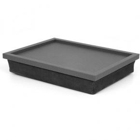 Аксессуары и Мебель для дома. Pinetti Teseo Bed TRAY кожаный поднос с мягкой подставкой