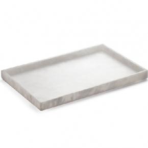 Аксессуары для ванной настольные. Alabaster настольный лоток натуральный камень алебастр