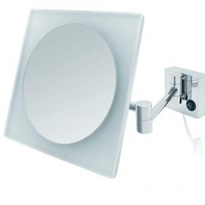 . Lucera настенное косметическое зеркало с подсветкой LED и увеличением 1х5