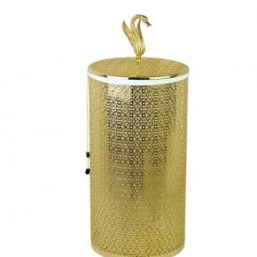 Корзины для белья. Luxor корзина для белья золото 22 и 44 литра
