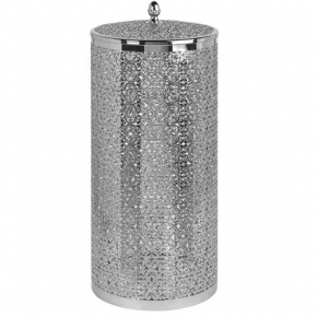Корзины для белья. Корзина для белья 22 литра ML.COM-50.133 хром