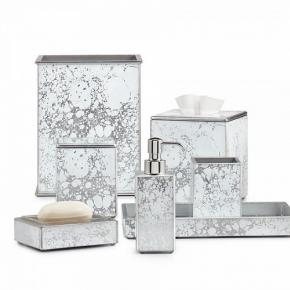 Аксессуары для ванной настольные. Amari Silver Labrazel аксессуары для ванной настольные серебро