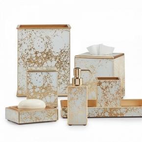 Аксессуары для ванной настольные. Amari Gold Labrazel аксессуары для ванной настольные золото