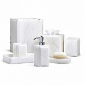 Аксессуары для ванной настольные. Claudia Labrazel аксессуары для ванной настольные алебастр