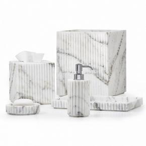 Аксессуары для ванной настольные. Acropolis Labrazel аксессуары для ванной мраморные настольные