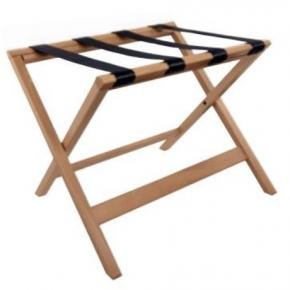Аксессуары и Мебель для дома. Aliseo KOFFERABLAGE подставка для сумок и чемоданов складная деревянная бук без спинки